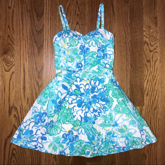 Lilly Pulitzer Dresses & Skirts - Lilly Pulitzer Willow Sundress 00 In a Pinch